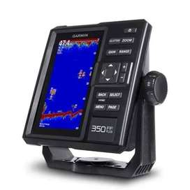 Garmin FF350 Fishfinder dan GT20 Transom FF350 Plus Fish Finder ID743