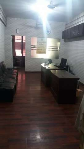 Blue area office first floor for Rent prime location
