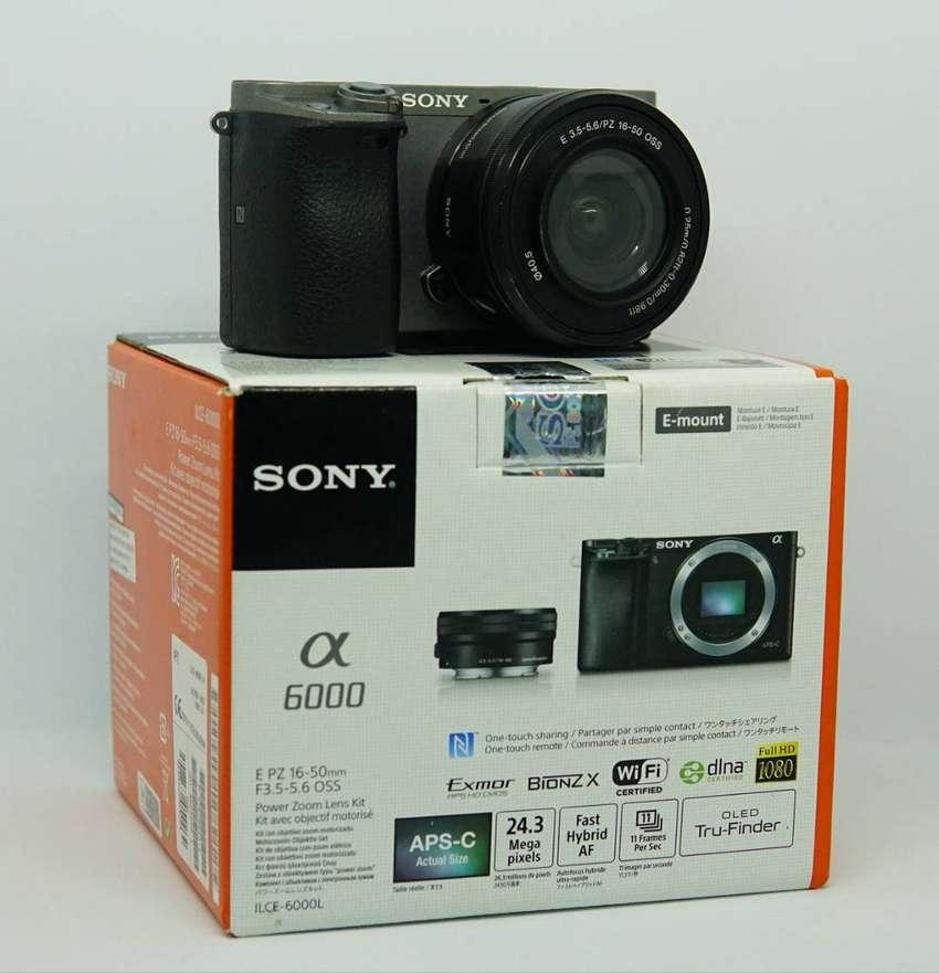 Sony A6000 + Lensa kit 16-50mm 0