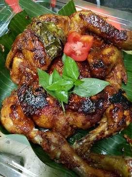 Ayam bekakak/bakar utuh