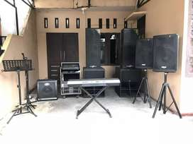 Dijual Sound system lengkap