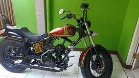 Motor pulsar 200 cc custom chopper bobber