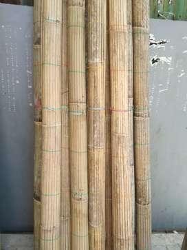 Tirai kulit bambu dan tirai rotan dan isi ,tirai kayu