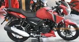 TVS APACHE 160 RTR ABS with disk brake - Matt red