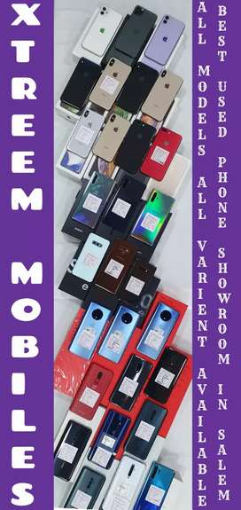 All Light Used Phones and Fresh Phones Available..
