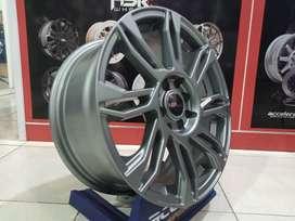 Velg Mobil Murah Type HSR Ring 16 Lebar 7 Hole 4x100 4x114,3 ET 42