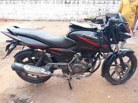 Pulsar 150 black and red