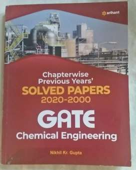 Gate chemical engineering chapterwise previous years solved papers.