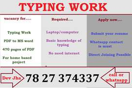 Yes you can do this job. If you have knowledge of typing.