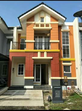 Rumah siap huni di The Green BSD, Tangerang Selatan.