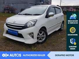 [OLX Autos] Toyota Agya 2014 TRD Sportivo 1.0 Bensin AT Putih #Derapro