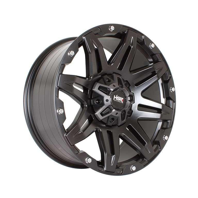 VELG HSR-Radak-H895-Ring-20X9-H6x1397-ET10-Semi-Matte-Black 0