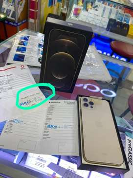 iPhone 12 Pro 256GB Gold iBox pemakean 3hari