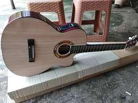 Gitar akustik elektrik new nayrual