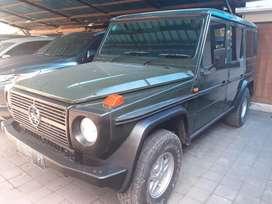Mercedes benz GE 280 th 1986 warna Hijau manual .