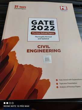 MADE EASY GATE 2022 previous year solved paper book