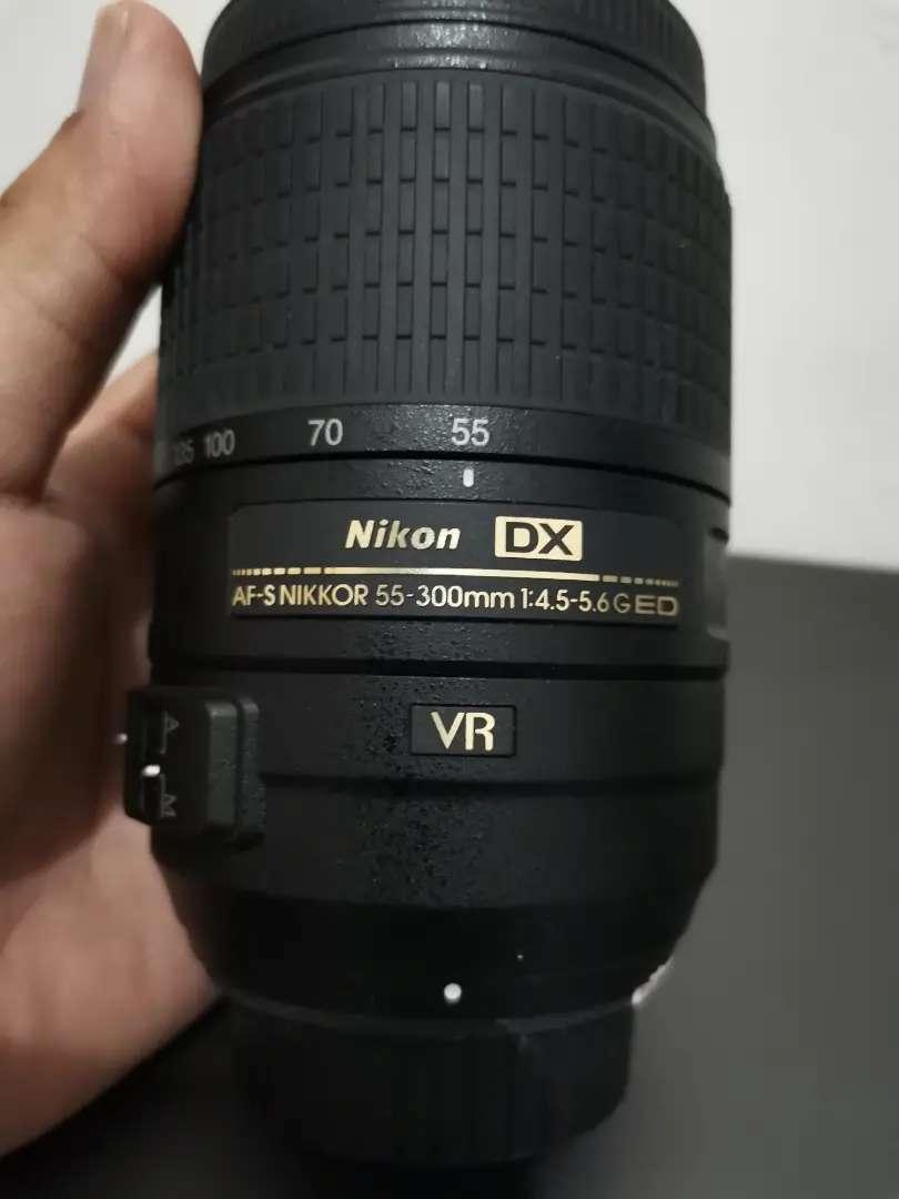 Nikon afs 55 300