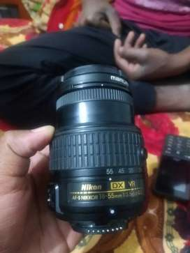 DSLR 18-55mm camera lens
