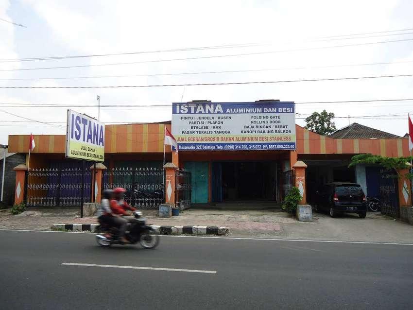 Toko + Gudang di jalan Hasanudin, Salatiga