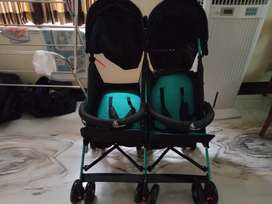 Kids twin stroller or pram