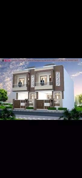 Luxury 3bhk 105 sqyd JDA approved duplex villa in dhawas chiterkut jpr