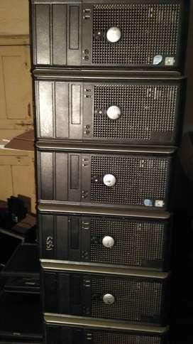 TOWER DELL OPTIFLEX SYSTEMS INTEL CORE 2DUO 2GB RAM 80GB HDD