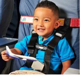 Child Safety Harness!! for the plane