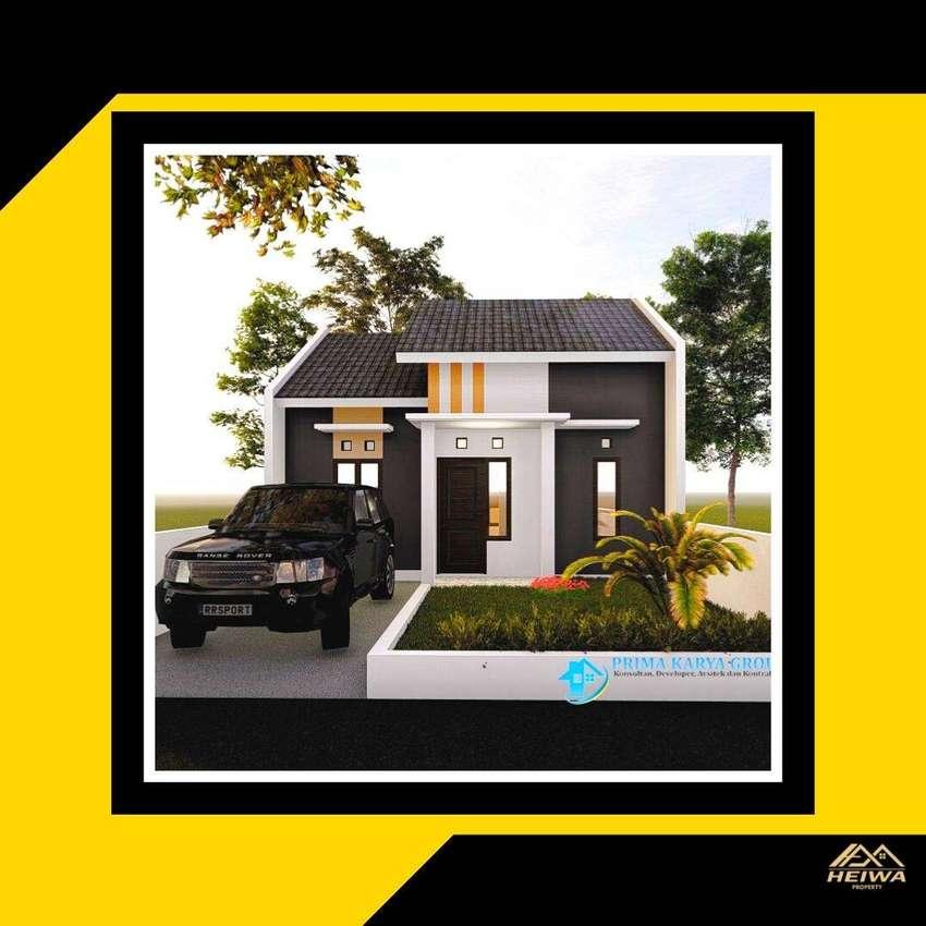 Rumah Cantik di dalam Perumahan Elite, Siap KPR, DP Fleksibel
