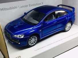 Kinsmart Mitsubishi Lancer Evolution X diecast mainan