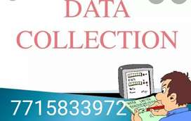Data collection company required