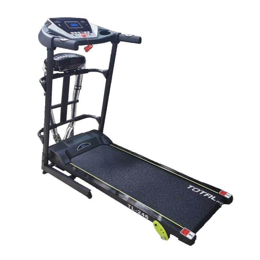 Alat Fitnes Treadmill Elektrik 1.5 HP TL246 | TL-246 Treadmil Elektric 0