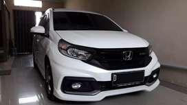 Honda all new mobilio RS facelift at cvt 2019 km 6 ribuan,nik 2018