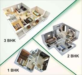 1Bhk 2Bhk 3Bhk Flat फ्लैट मुख्यमंत्री जन आवास योजना के तहत