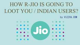 Reliance jio Telecom urgent job vacancy