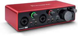 I want to buy focusrite Scarlett 2i2 audio interface