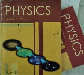 NCERT Physics Textbook for Class XII(Part I & II)