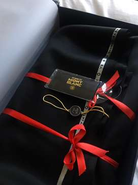 Tesutti Mont Blanc - Bahan Jas Suit Hitam MADE IN ITALY