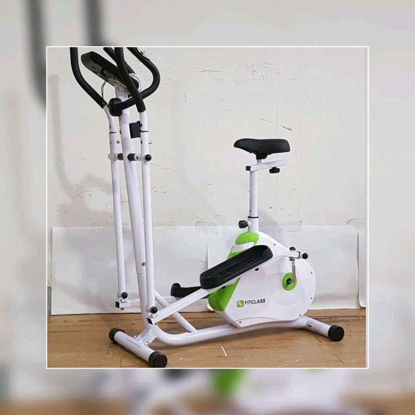 Sepeda Statis Elliptical Bike // Coumpour Gym 16.45 0