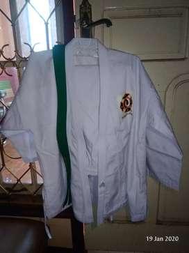 baju karate uk M dan S  - 200 keduany cod BJB
