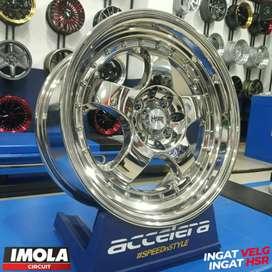 Velek Mobil Ring 16 Vios Yaris HSR BRISKET R16x75 Pcd 4x100 & 4x114,3