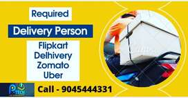 Required for delivery executive for Delhivery