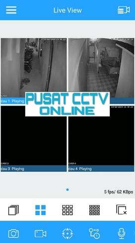SIAP PANTAU DI HP PAKET CCTV LENGKAP