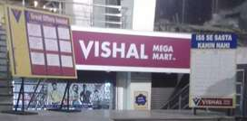 Requirement for Vishal Megha Mart sales in Ranchi