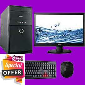 --diwali offer--  intel dual core/Core2duo FULL system 1 warranty