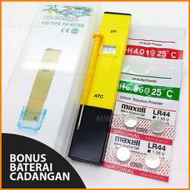 Alat Ukur Air Hidroponik pH Meter ATC Pen Type PH 009 PH009