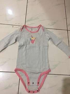 Preloved sleepsuit carter baby 48bulan