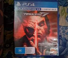 Tekken 7 and god of war