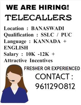 bpo jobs - Telecaller