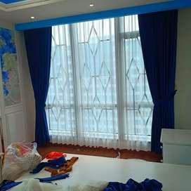 Tirai Gordyn gorden gordeng vitrase blinds wallpaper 0z2918