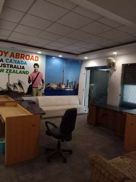 Fully furnished office for rent at near sky lark chowk